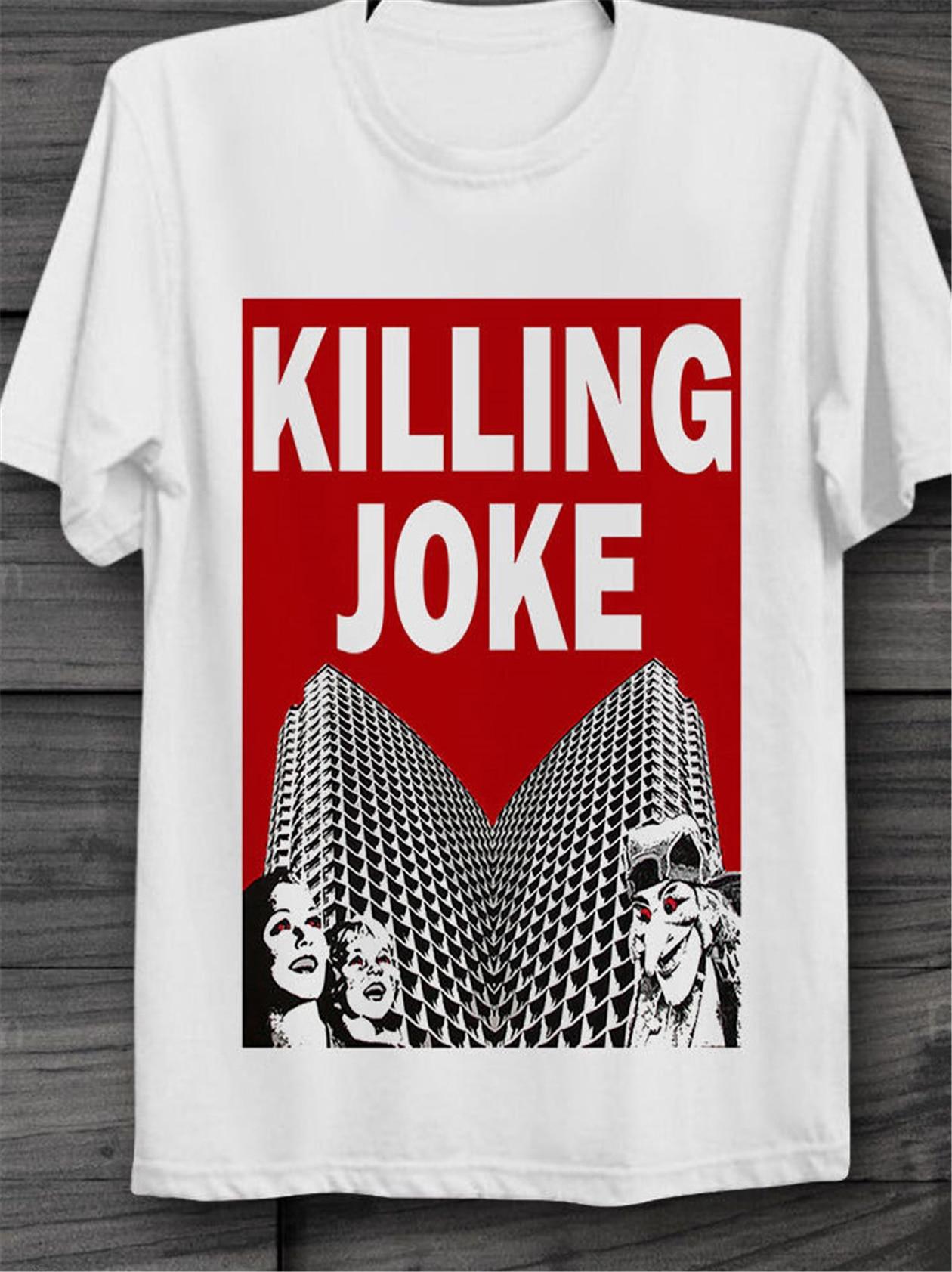 KILLING JOKE Empire Chanson Punk Rock Rétro Vintage Unisexe T Shirt 1772