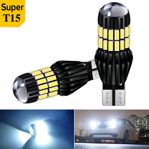 2X Super Bright T15 912 W16W WY16W 3030 LED Auto Brake Bulb Backup Reverse Lamp Car Daytime Running Light Turn Signals 6000k