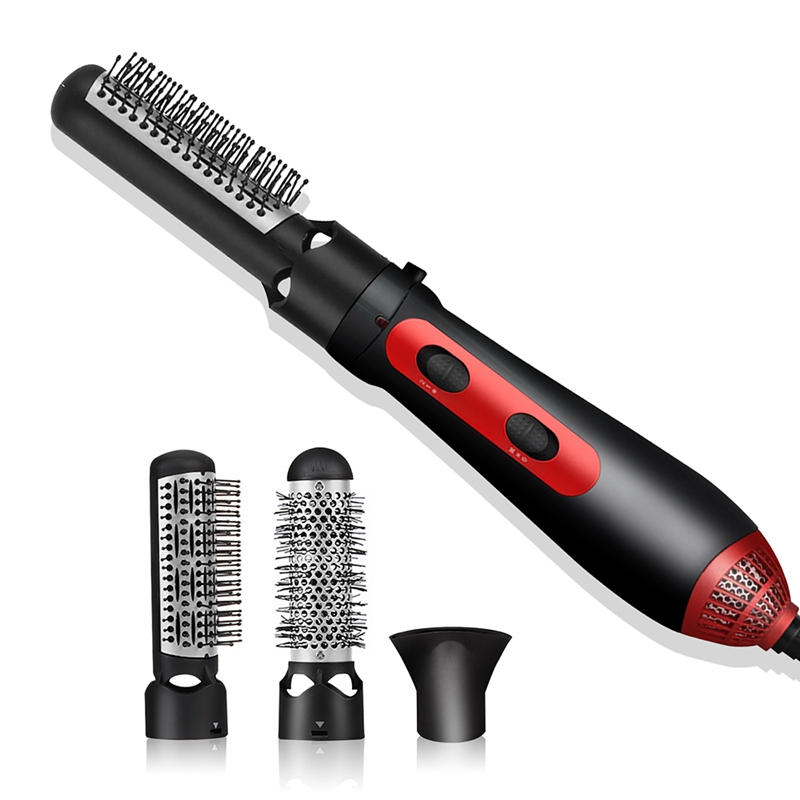 One Step Hair Dryer Brush 3In1 Multifunctional Hair Dryer Volumizer Straightener Negative Ion Hot Air Brushes Curling Lron Salon
