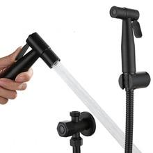 Handheld Toilet Bidet Faucet Sprayer Stainless Steel Bathroom Hand Bidet Spraye Gun Set Toilet Self Cleaning Shower Head