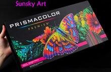 USA 150 couleur originale prismacolor Premier 4.0mm doux huile couleur Crayon sanford artiste Crayon couleur Cor do Chumbo