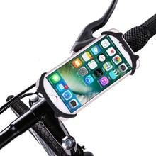 купить Universal Mobile Cell Phone Holder Bicycle Phone Holder For iPhone Samsung Bike Handlebar Clip Stand GPS Mount Bracket Hot Sale дешево