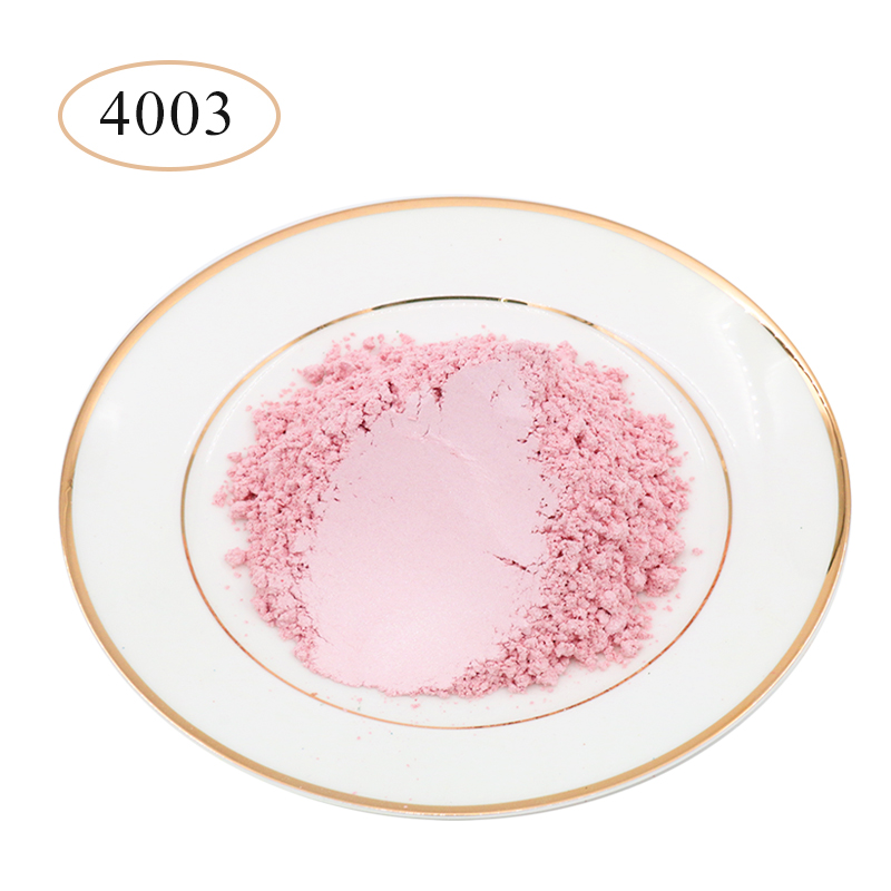Type 4003 Pigment Pearl Powder Coating Natural Mineral Mica Powder DIY Dye Colorant For Soap Automotive Art Crafts 10g 50g