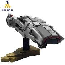Buildmoc – avion technique spinner's de Blade-Runner 2049, Mini avion, blocs de construction à l'échelle, Collection jouets cadeau