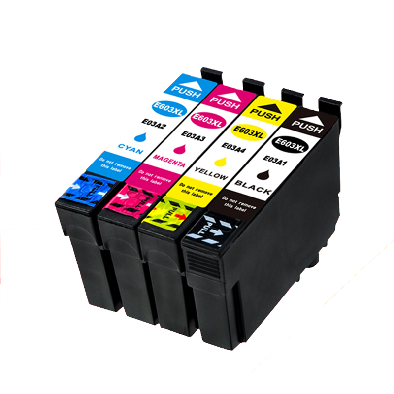 einkshop For <font><b>Epson</b></font> t603 ink cartridge For 603xl <font><b>Epson</b></font> <font><b>XP</b></font>-<font><b>2100</b></font> <font><b>XP</b></font>-2105 <font><b>XP</b></font>-3100 <font><b>XP</b></font>-3105 <font><b>XP</b></font>-4100 <font><b>XP</b></font>-4105 WF-2810 WF-2830 image