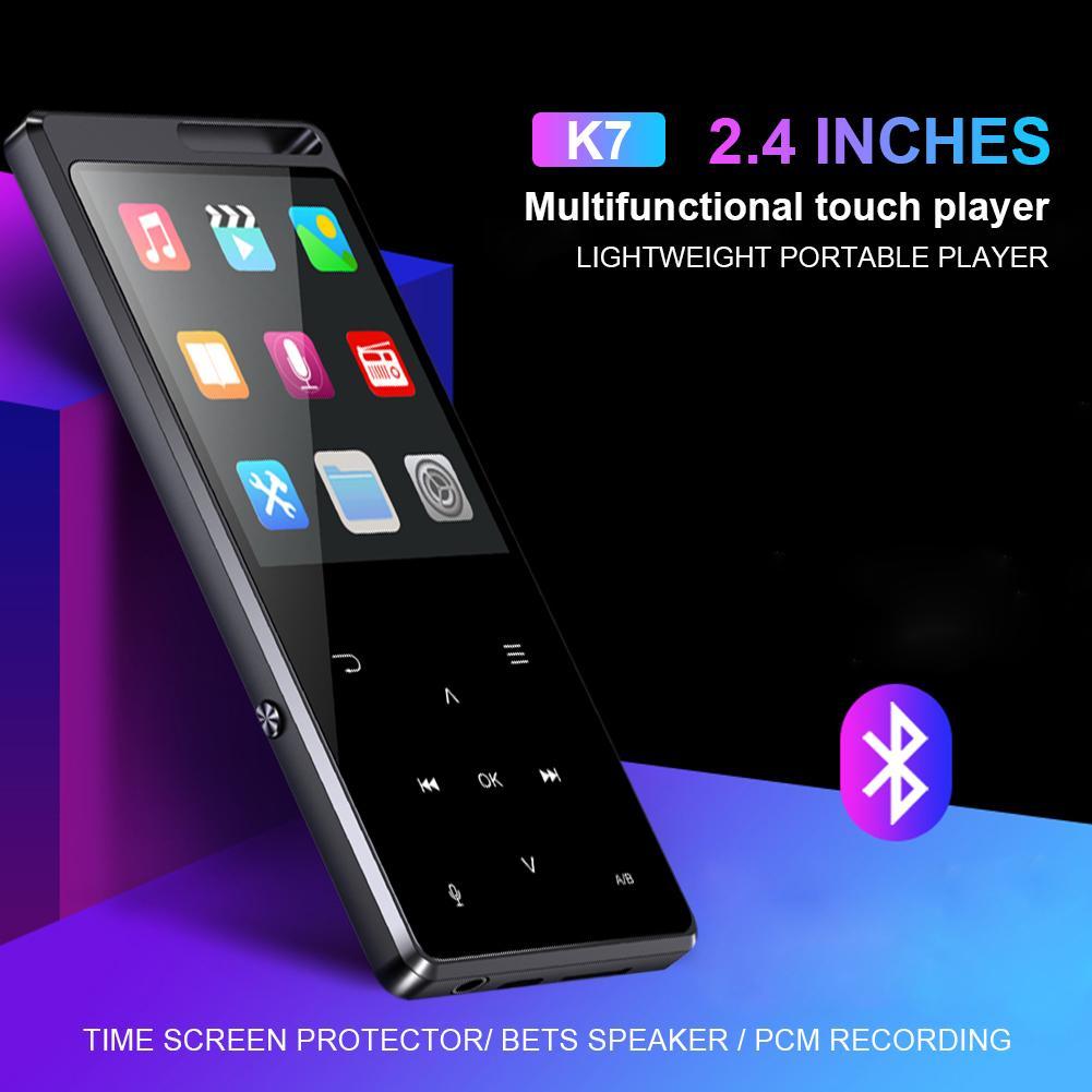 2.4 Inch LCD Screen MP3 MP4 Music Player 8GB Bluetooth Music Playing Video Player E-book Player MP3 800mAh Battery Walkman