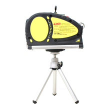 Mini Vertical Level Line Lasers Multipurpose Laser Horizon Measure Tape Aligner Bubbles Ruler Measuring Gauge Tool