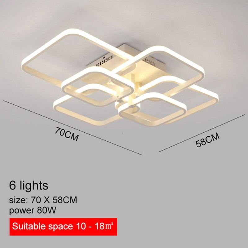 anéis circel led AC85-265V lâmpadas teto para