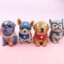 Avenge Corgi Dog Dekoration Bedroom Accessories Lovely Pet Piggy Bank Decoration Room Decor Ornaments For Car Interior