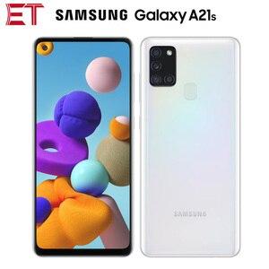 Глобальная версия Samsung Galaxy A21s A217F/DS 4G мобильный телефон 4 Гб 64 Гб Восьмиядерный 6,5