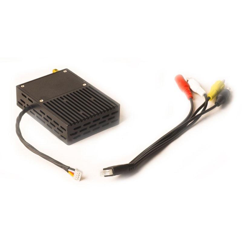 500mw/1000mw/2000mw COFDM Telemetry Transmission Receiver Set 2W Wireless Digital Audio Video Transmitter for UAV Drone Video 16