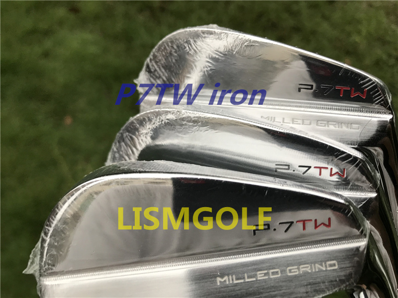 2019 New Golf Irons Tiger P7TW Irons Forged Set ( 3 4 5 6 7 8 9 P ) With Project X6.0 Steel Shaft 8pcs Golf Clubs