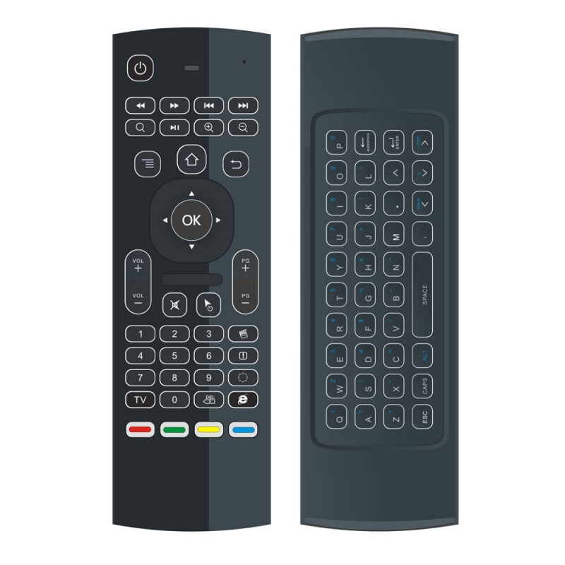 MX3 Backlit Air Mouse Smart Remote Control 2.4G RF Wireless Keyboard for TV Box Android X96 Mini KM9 A95X H96 MAX