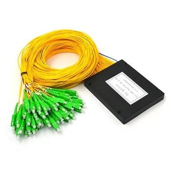 SC/ APC Fiber Optic PLC Splitter 1x64 PLC Splitter Optical Coupler Fiber Optical PLC Splitter modules With Box type