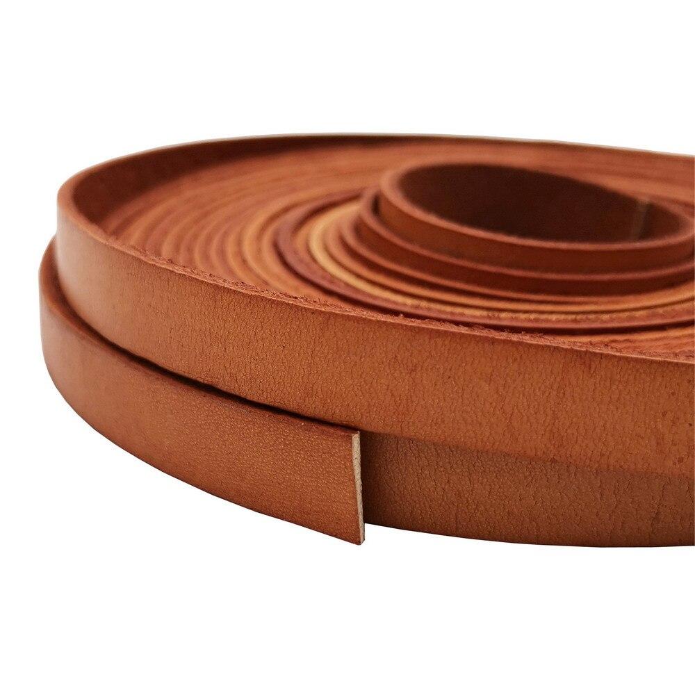1 ярд 10 мм плоская кожаная полоса, потертый загара 10x2 мм ремешок из натуральной кожи для изготовления браслета, ремешок для часов|Ювелирная фурнитура и компоненты|   | АлиЭкспресс