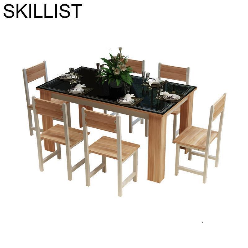 Salle A Manger Moderne Comedores Mueble Set Eet Tafel Piknik Masa Sandalye Redonda Comedor Bureau Mesa Tablo Dining Room Table