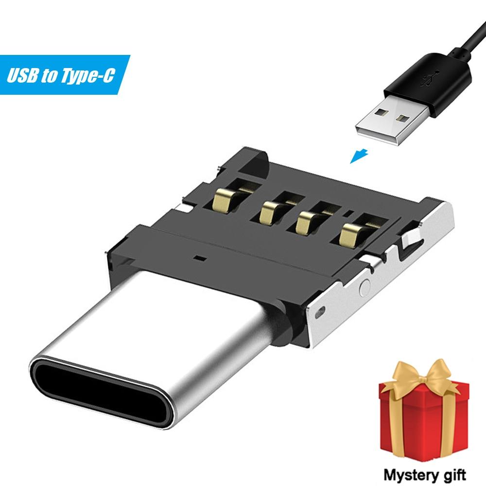 10 sztuk typu C na USB otg złącze adaptera obsługiwane dla S8 Note8 telefon z systemem android i typu C z obsługą smartfona pamięć USB