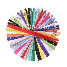 10 pçs novidade 12/16 polegada estrela forma rendas zíperes 3 # náilon para bolsa sacos para diy costura alfaiate craft cama saco 20/cor zip