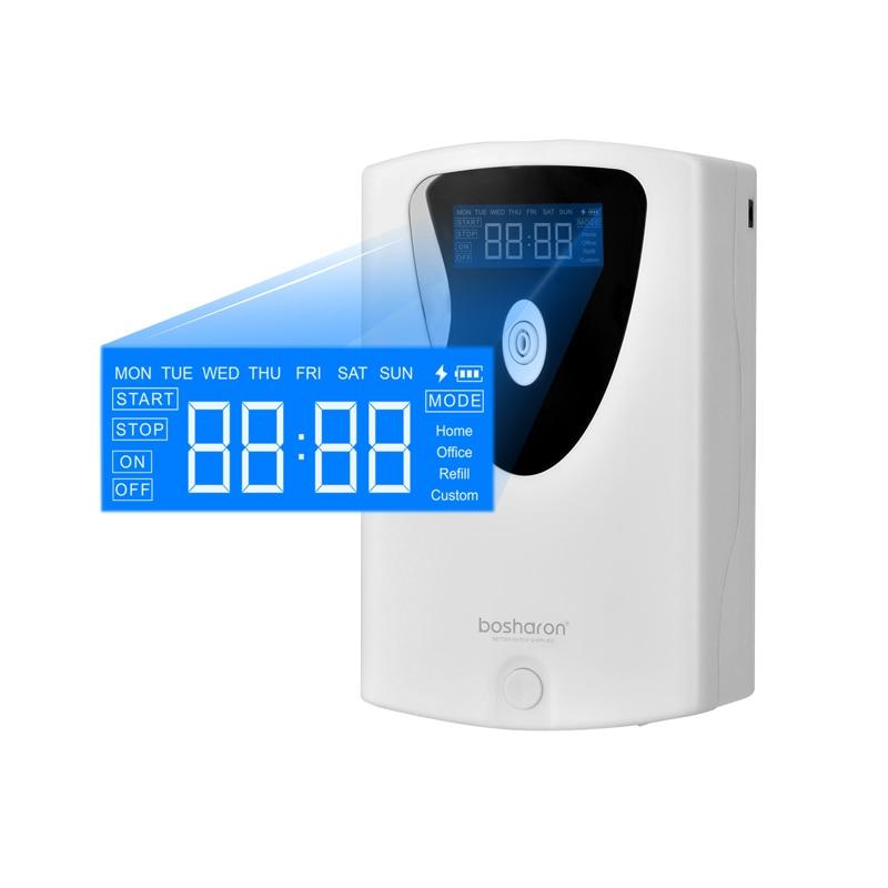 Диффузор эфирного масла, домашний освежитель воздуха, автоматический аэрозольный диспенсер, ЖК ароматизатор, умная машина для отеля, ванной комнаты, туалета