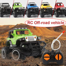Off-road Mini Rc Vehicle New Drift Speed Remote Control Truck Rc Kids Toys Light Jeep Four-wheel Climbing Car Toys Birthday Gift(China)