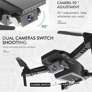 Image 4 - Teeggi M71 rcドローン 4 18k hdカメラ折りたたみミニquadcopter wifi fpv selfieドローンおもちゃ子供のためのdron vs SG106 SG107 E68 E58