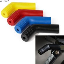Универсальное оборудование для мотокросса, чехол рычага, Нескользящий Резиновый рукав, защита для обуви, цветной CHIZIYO