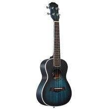 Andrew ukulele concerto ukulele 23 Polegada 4 cordas da guitarra hawaiian mogno azul uke instrumento de cordas
