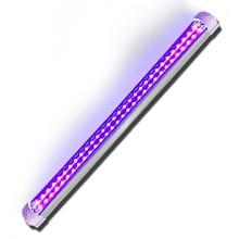 УФ-светодиодный светильник, двухрядный 395nm, бестеневая лампа, УФ-клей, затвердевающий ультрафиолетовый светильник