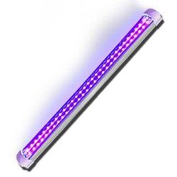 Uv led cura luz dupla fileira 395nm lâmpada sem sombras uv cola solidificação luz ultravioleta