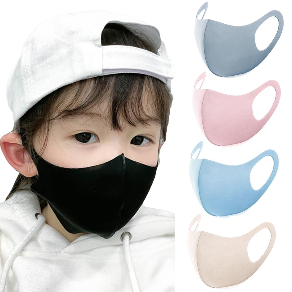 For 6-13 Years Kids Children Mouth Mask Anti Pollution Mask Air Dust Face Masks Washable And Reusable Mouth Cover