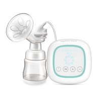 Smart Electric Breast Pump Mute Comfortable Suction Large Automatic Milker Pull Milk Painless Nursing Massage 8