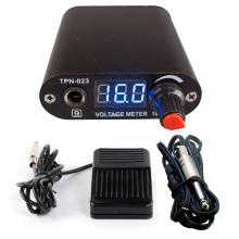 Professional Digital Power LCD Display Tattoo Power Supply With Foot Pedal And Tattoo Clip Cord Tattoo Accessory Tools mbr cell power foot