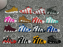 Mini Silicone AIR Shoes Keychain Bag Charm Woman Men Kids Key Ring Gifts Sneaker Key Holder Pendant Accessories Jordan Key Chain(China)
