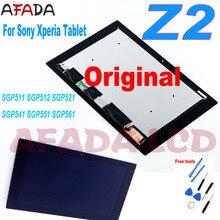 Original LCD for Sony Xperia Tablet Z2 SGP511 SGP512 SGP521 SGP541 LCD Display Touch Screen Digitizer SGP551 SGP561 LCD Screen