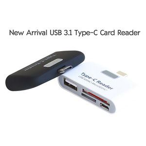 Image 4 - OTG Card Reader Multifunction Memory Card Adapter USB 3.1 Type C USB C TF for MAC book Phone Tablet Cards Readers