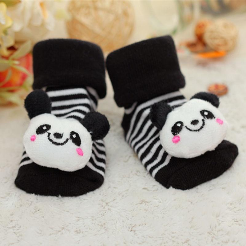 2019 New Baby Socks Rubber Anti Slip Floor Cartoon Kids Toddlers Autumn Spring Fashion Animal Newborn Cute 0-6-12month
