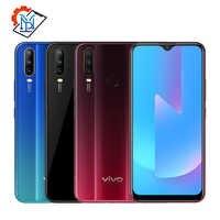 Téléphone portable vivo U3x Original 6.35 pouces écran 3GB + 32GB snapdragon 665 Octa Core 5000mAh grande batterie 13.0MP appareil photo Samrtphone