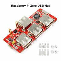 Raspberry Pi Zero Hub USB Powermanager per RPI Zero 4 USB Interfaccia di Estensione Raspberry Hub Kit FAI DA TE