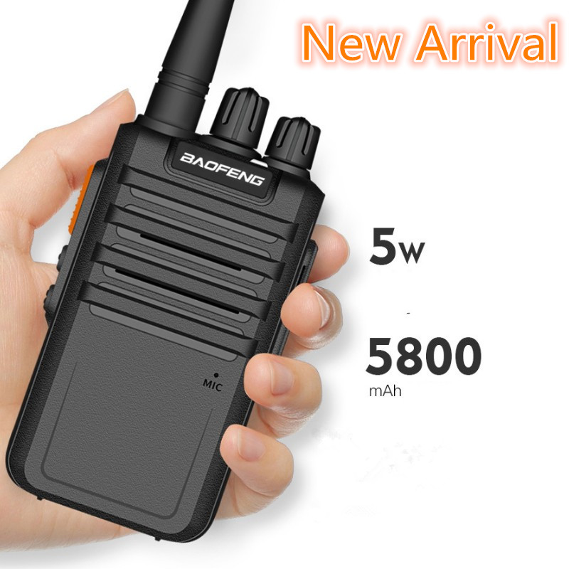 2020 New Arrival  Baofeng BF-M4 Two Way Radio Hotselling  UHF 5800mAh High Capacity Battery USB Rapid Charger PMR Walkie Talkie