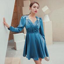 Yigelila модное женское платье элегантное с v образным вырезом