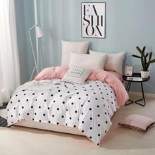 15 White Wave Point Duvet Cover Modern Comforter Quilt Cover Blanket with Zipper Twin Full Queen