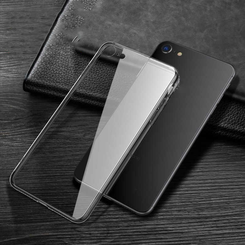 Voor Apple Iphone Se 2020 4.7 Inch Silicone Soft Case Super Clear Telefoon Case Voor Iphone Se 2020 Case cover