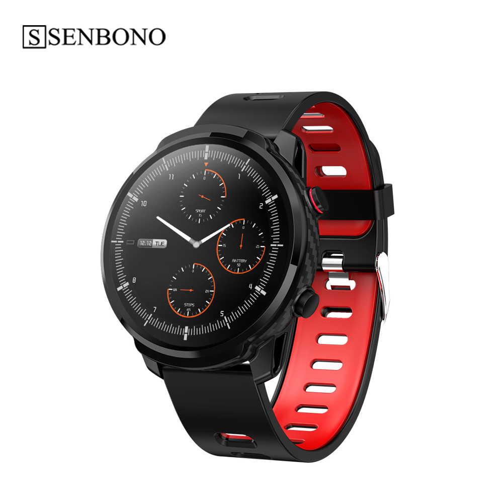 SENBONO S10 Smart Watch Full screen touch fitness activity tracker heart rate monitor blood pressure for women men smartwatch