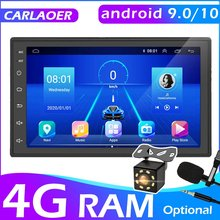 2 Din Android 9,0 Auto Multimedia Video Player Universal 2DIN Stereo Radio GPS Für Volkswagen Nissan Hyundai Kia Toyota LADA ford