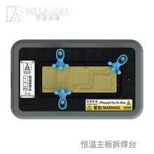 QIANLI Plataforma de soldadura para IPHONE X, XS, XSMAX, montaje de temperatura constante, accesorio de pegamento