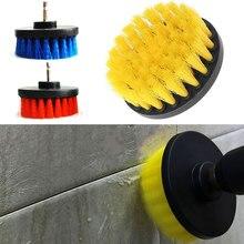 Vehemo 4 дюйма нержавеющая сталь+ пластиковая дрель шариковая щетка электрическая дрель шариковая Щетка Очиститель практичные чистящие средства