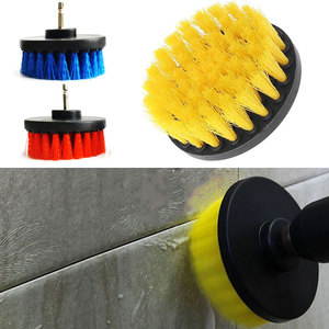 Image 1 - Vehemo 4 Inch Stainless Steel + Plastic Drill Ball Brush Electric Drill Ball Brush Cleaner Pratical Cleaning Products