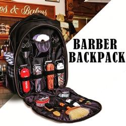 Hairdressing Tools Backpack Hair Clipper Scissors Comb Hair Dryer Supplies Multifunction Barber Storage Bag Hairdresser Backpack