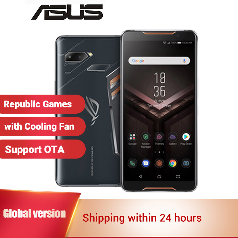 """International Asus ROG Phone ZS600KL Gaming Smartphone 512GB 128GB ROM 8GB RAM 6"""" Snapdragon 845 Octa core Game Mobile Phone