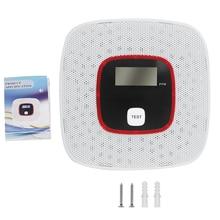 Gas-Alarm-Sensor Carbon-Monoxide LCD for Bedroom Living-Room Hotel Office Display Voice-Notification